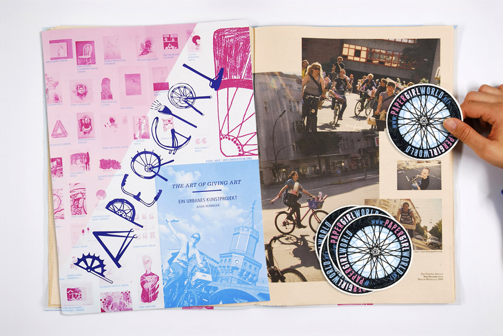 Papergirl Publication and Stickers